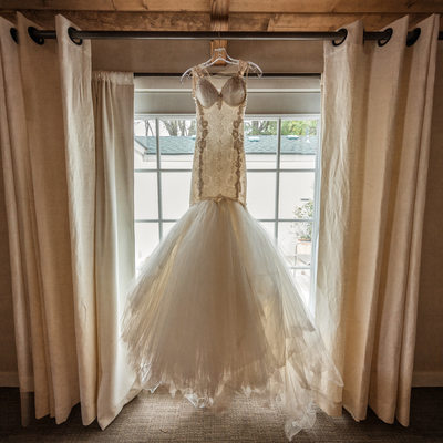 Calamigos Ranch Wedding Dress