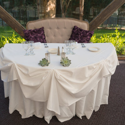 Calamigos Ranch Wedding Sweetheart Table