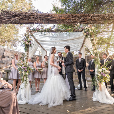 Ceremony at Calamigos Ranch Wedding