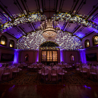 langham hotel pasadena wedding reception details