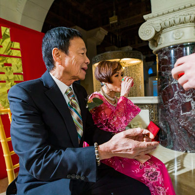 Tea Ceremony at Majestic Downtown Wedding