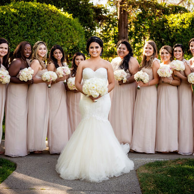 Bridesmaids Photos at Four Seasons Westlake Village