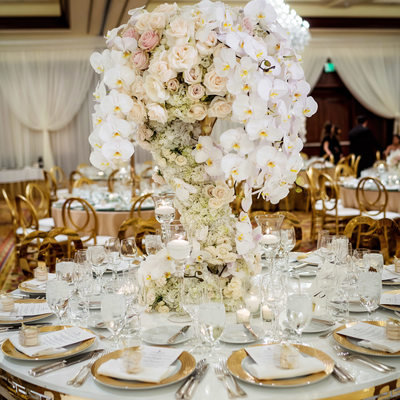 Table Ideas at Four Seasons Westlake Village Wedding