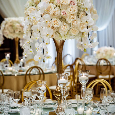 Wedding Centerpieces at Four Seasons Westlake Village