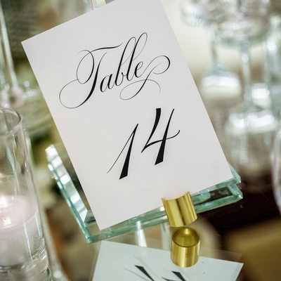 Table Numbers at Four Seasons Westlake Village