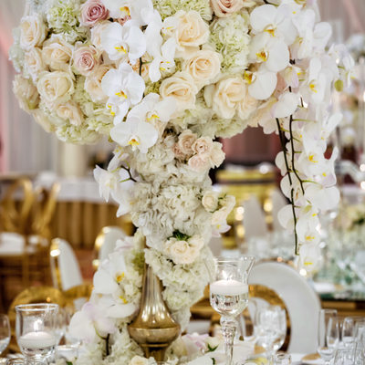 Wedding Florals at Four Seasons Westlake Village