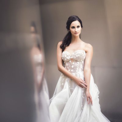 Galia Lahav Wedding Gown at Walt Disney Concert Hall.jpg