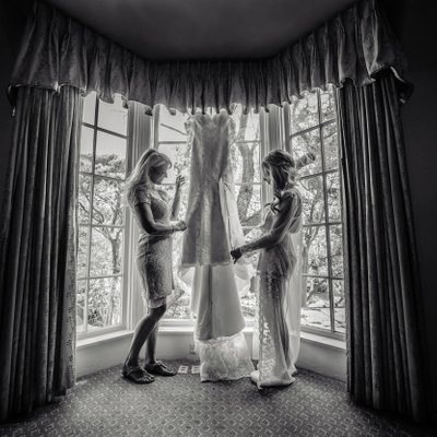 Getting Ready: Bride and her Mother
