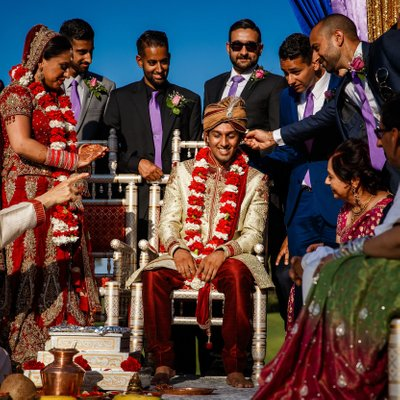 Indian Wedding at Valencia Country Club