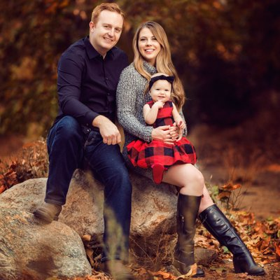 Fall Family Photos in Los Angeles