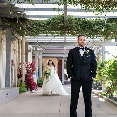 Callaway Winery Wedding:First Look