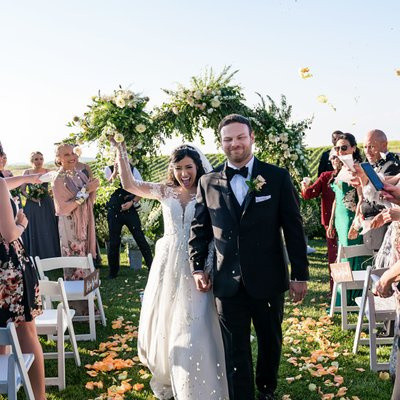 Callaway Winery Wedding: After Ceremony