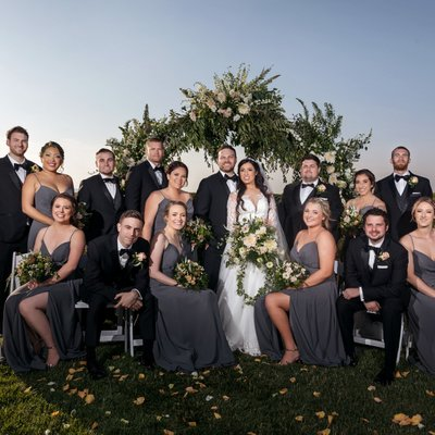 Callaway Winery Wedding: Bridal Party