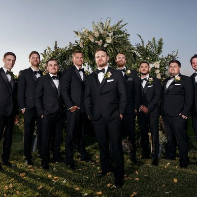 Callaway Winery Wedding: Groomsmen