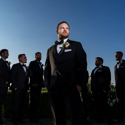 Callaway Winery Wedding:Epic Groom Photo