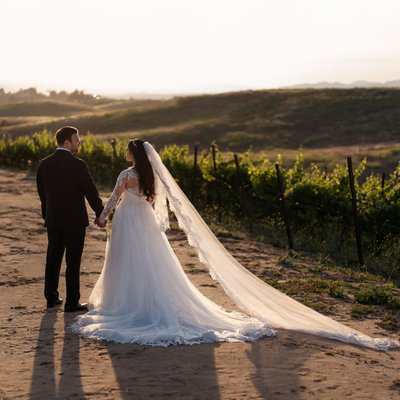 Callaway Winery Wedding:Natural Light Photo