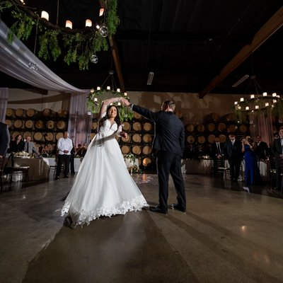 Callaway Winery Wedding: First Dance
