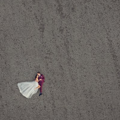 Drone Wedding Photography in Los Angeles