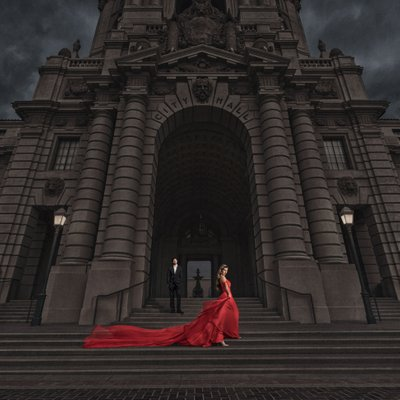 Pasadena City Hall Engagement Session
