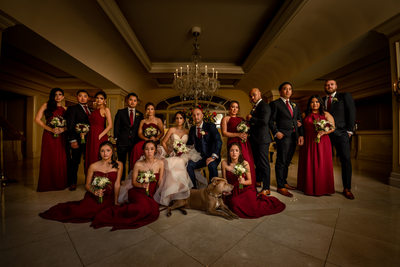 langham pasadena wedding