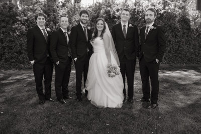 Mountaingate Country Club Groomsmen