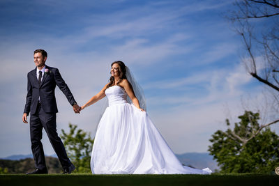 Mountaingate Country Club Golf Course Wedding Photos