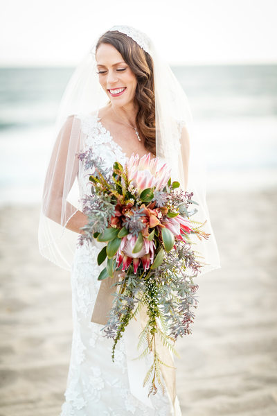 Boho Beach Wedding Los Angeles