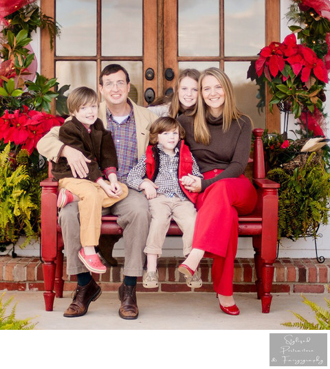 Watkinsville GA Family Christmas Photos
