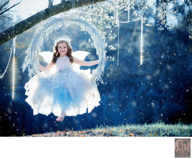 Ice Fairy Swinging