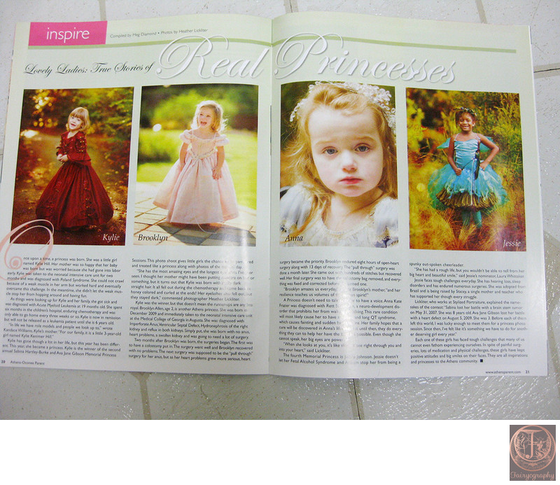 Fairyography published in Athens Parent Magazine