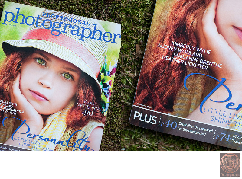 Fairyography published in Professional Photographer Magazine
