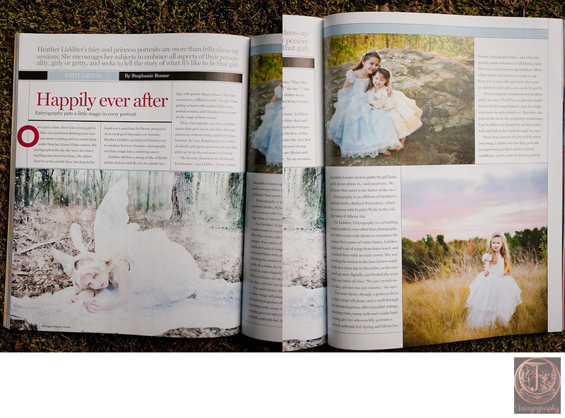 Fairyography published in Professional Photographer Magazine 3