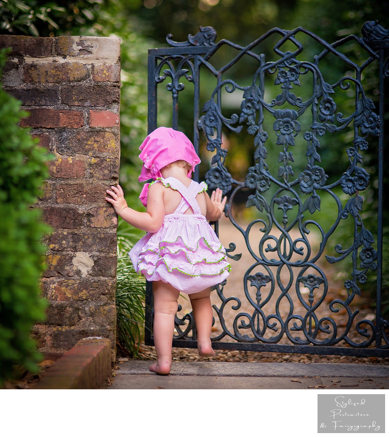 UGA Founder's Garden Baby Photographer