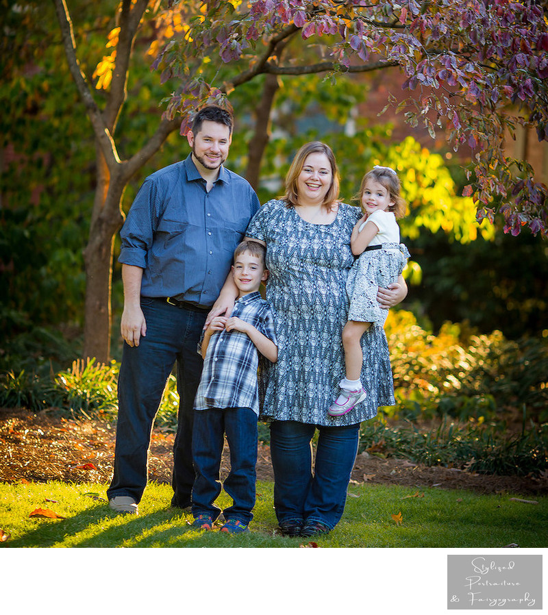UGA North Campus Family and Baby Photographer