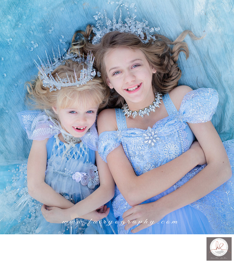 Ice fairy frozen Photo sessions