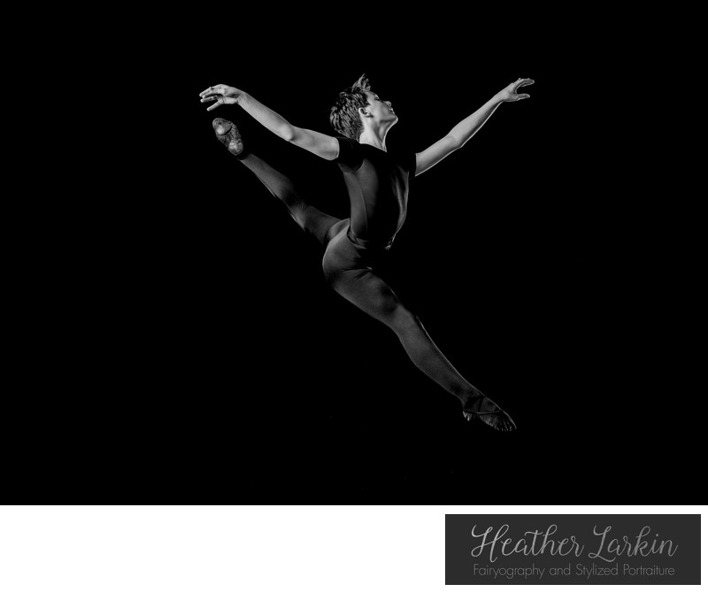 Male ballet studio photographer