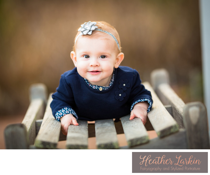 Fall baby photographer