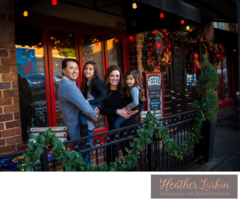 Downtown Athens Family Photographer