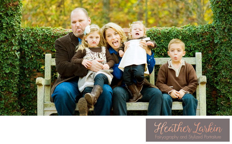 Funny family photographer