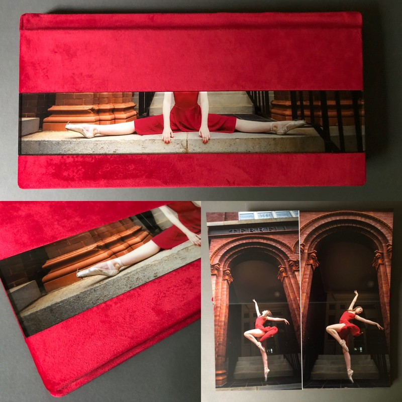 Leatherbound Albums for ballerinas