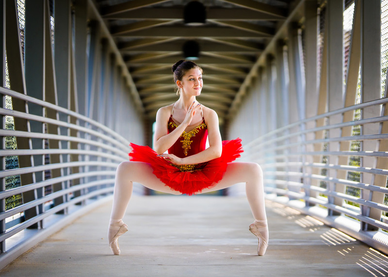 Ballerina tutu photography