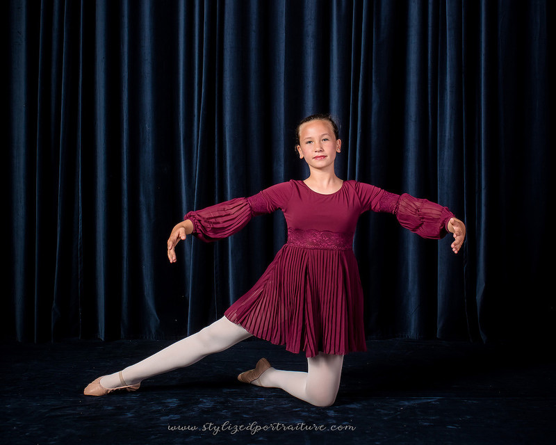 Dance school photography