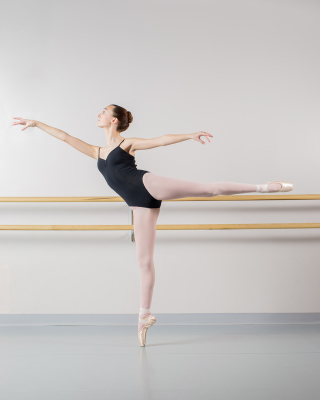 Athens ballet audition photography