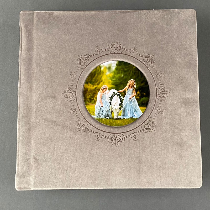 Handmade Albums - Etched cover 1