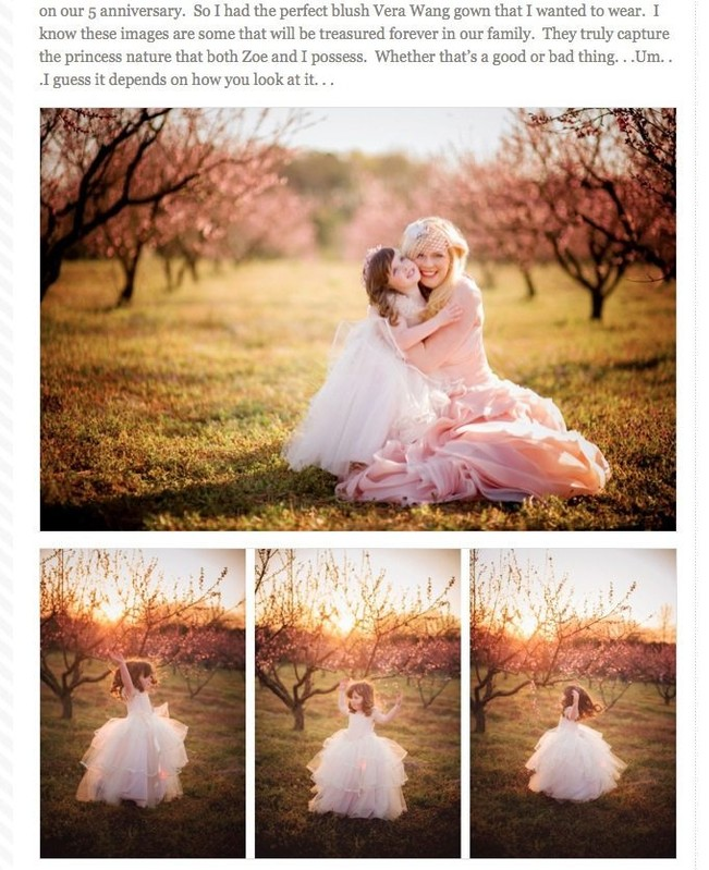 Fairyography is published with a mother-daughter session