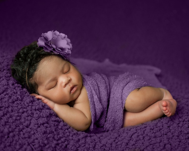 Newborn photos for baby girls Athens