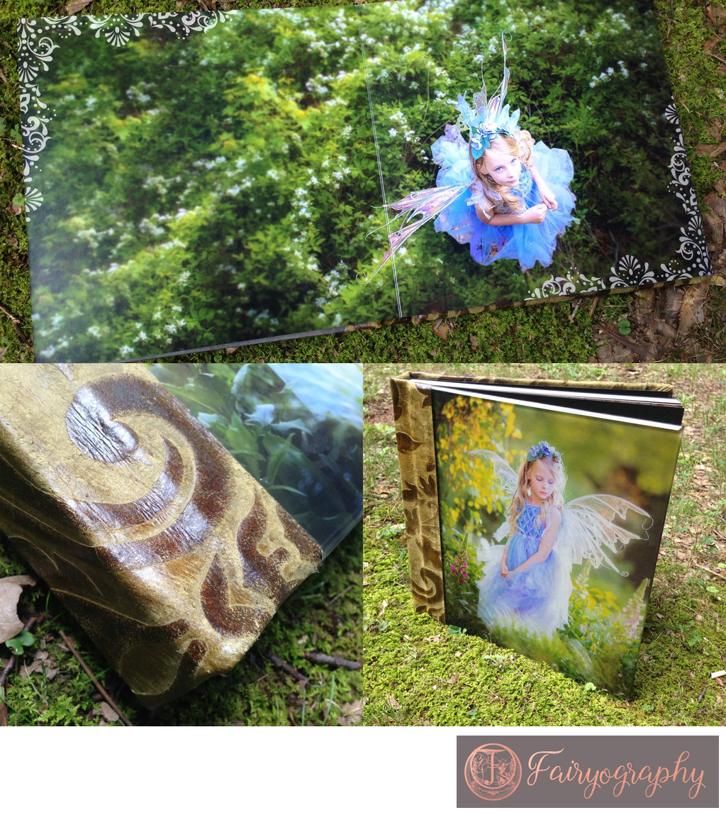 Green summer fairy custom album Atlanta