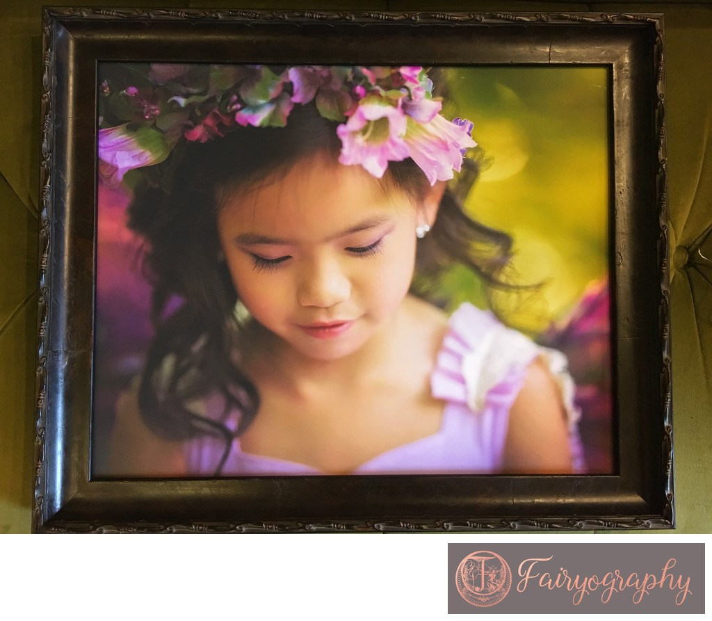 Framed print for fairy watkinsville