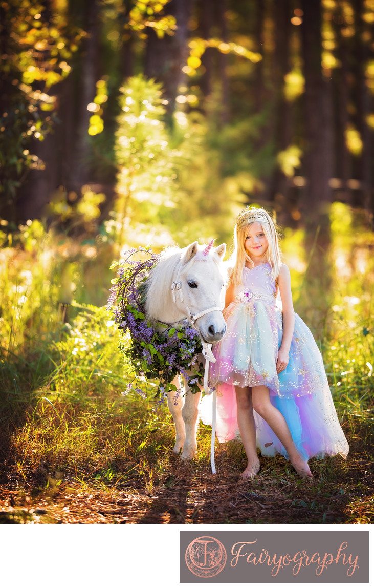 Unicorn Photographer in Watkinsville
