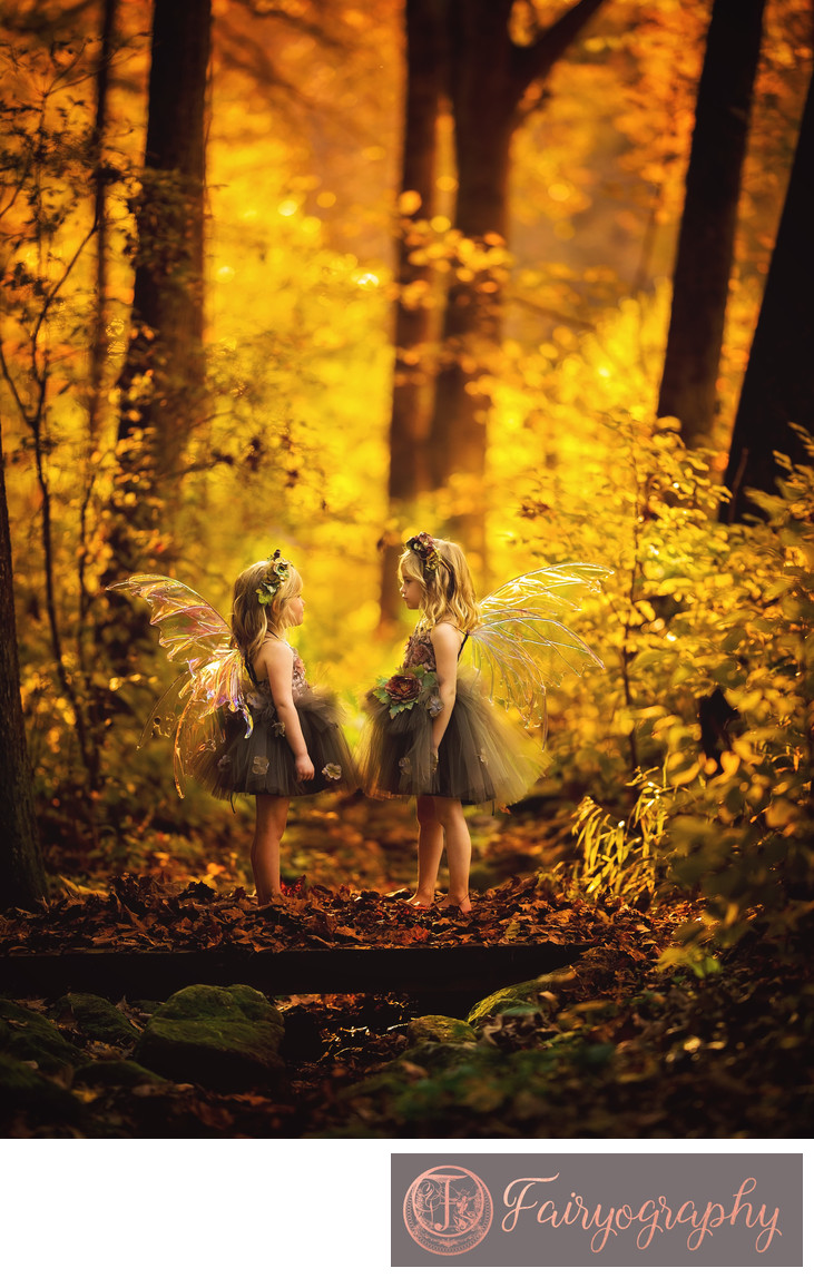 Fall Fairy Photos in Atlanta